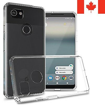 For Google Pixel 2 XL Case - Clear Thin Soft TPU Silicone Back Cover