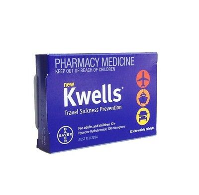 Kwells Travel Sick Tabs 12s