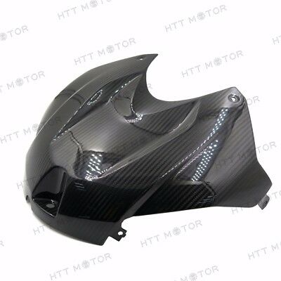 For 15-17 BMW S1000RR Gas Tank Air Box Front Cover Panel Fairing REAL Carbon Fib
