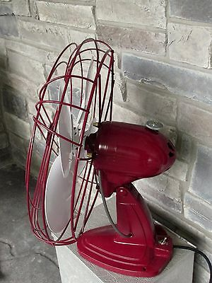 Vintage Handsome Custom Paint Arctic Aire Oscillating Fan 16""