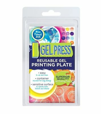Gel Press - Reusable Gel Printing Plate - Mini Format 3 x 5