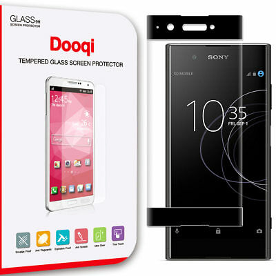 3D Curved Full Coverage Tempered Glass Screen Protector for Sony Xperia XA1 Plus