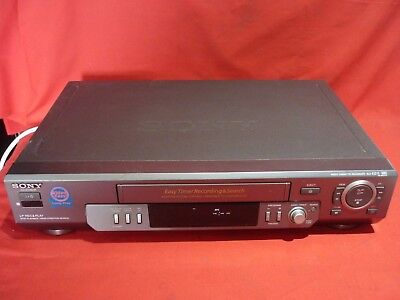 Sony Slv-Ez11 Video Vhs Vcr Player No Remote Working Well Great For Transfer