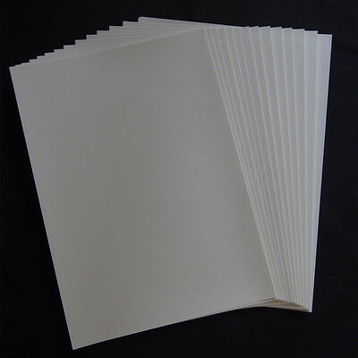 A4 Clear Waterslide Decal Paper - Inkjet X 80 Pieces