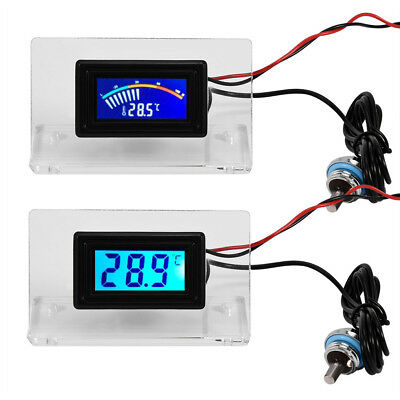 LCD Screen Frame Kit Thermometer Temperature PC Water-cooling Thermometer New BT