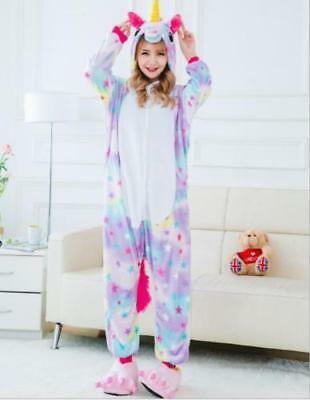 Star Unicorn Unisex Kigurumi Animal Cosplay Costume Onese2 Pajamas Sleepwear