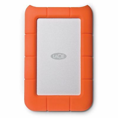 "LaCie Rugged Mini ShockProof 4TB USB 3.0 2.5"" Portable HDD"