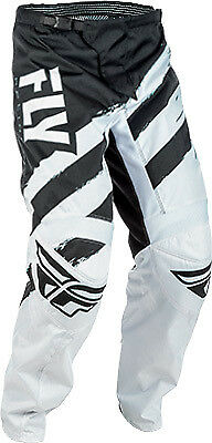 Fly Racing F-16 Pants 40 Black/White 371-93040 2018 371-93040