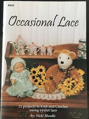 Occasional Lace by Vicki Moodie 21 Projects To Knit And Crochet Using Lace
