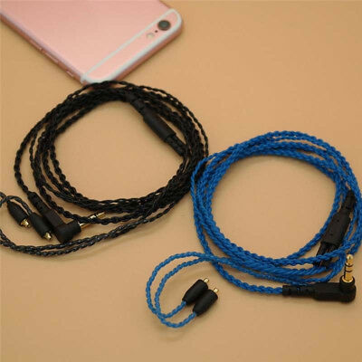 Replacement MMCX Audio Upgrade Earphone Cable For Shure SE215/315/535/846/UE900
