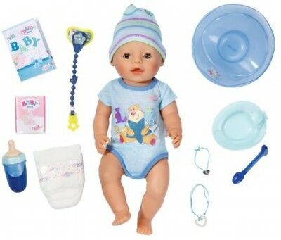 New BABY Born Interactive Boy Doll 9 Functions 11 Accessories Kids Girls Toy Fun