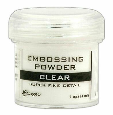 Ranger Embossing Powder Clear Super Fine
