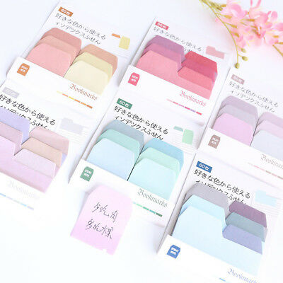 60 Pages Creative Sticky Notes Memo Pad marker Sticker Stationery Supply
