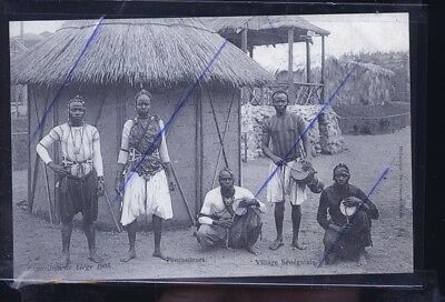 Liege Exposition 1906 Senegalais         Trait Anti Copie