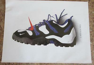 Vintage Print Ad For Nike Shoe Ready To Be Framed Or Gift Idea! 1-800-618-5921