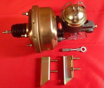 """1960-1966 Ford Falcon 7"""" Power Brake Booster Kit master cylinder"""