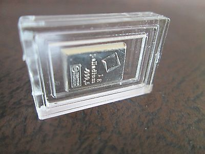 1 gram Valcambi Palladium Fractional Bar - No Assay Card (Encapsulated)