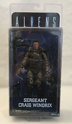 "Aliens - Series 2 - 7"" Scale Sgt. Craig Windrix Action Figure - NECA new 2013"