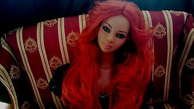 """22"""" Carrot colored  Tonner American Model -Ellowyne NO DOLL"""