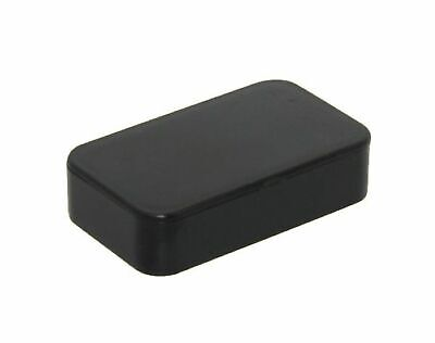 Plastic ABS Small Box Empty Case Black Housing 63 x 37 x 16 mm