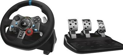 NEW Logitech Driving Force G29 Racing Wheel and Pedal Set Sony PlayStation 4 & 3