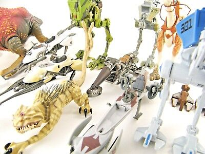 Star Wars Modern Vehicles & Creatures Sets - Please See Photos!