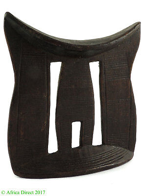 Ethiopian Headrest Engraved Patterns African