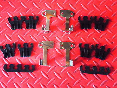 Spark Plug Wire Dividers Black Separator With Triple Chrome Brackets 7Mm 8Mm 9Mm