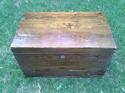 Antique Travel Trunk 1940s