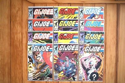 G.I. Joe (Run of 12) Issues #31-42: Great Condition! Marvel 1985