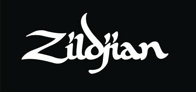 Zildjian Decal Vinyl Sticker The Only Serious Choice. Cymbals Drums Percussion