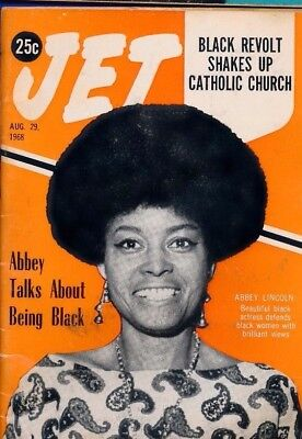 8/29/1968 Jet Magazine Black revolt shakes Catholic church ABBEY LINCOLN DEFENDS