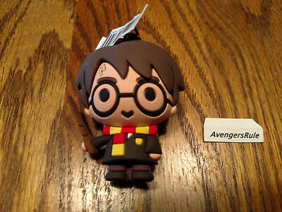 Harry Potter Collectors Figural Keyring Series 3 Harry Potter With Wand
