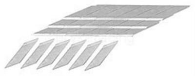 Multi Siper Blades for Multi-Siper Head groover