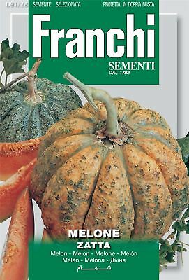 Franchi Seeds of Italy - Melon - Zatta - Seeds
