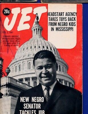 2/2/1967 Jet Magazine EDWARD BROOKE NEW NEGRO SENATOR AGENCY TAKES TOYS OF TOTS