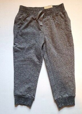 AriZona Toddler Boys/Girls Heather Gray Jogger Knit Pants - Size 2T - NWT $24