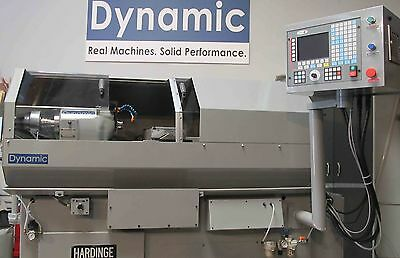Hardinge Accuslide CNC Gang Tool Lathe - Easy to use! Very RIGID, FAST ACCURATE!