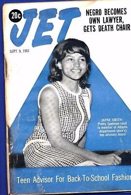 9/9/1965 Jet Magazine Marquette Frye LA riot Negro becomes own lawyer gets chair