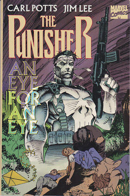 """THE PUNISHER """"An Eye for an Eye"""" softcover TBP. Beautiful NM"""