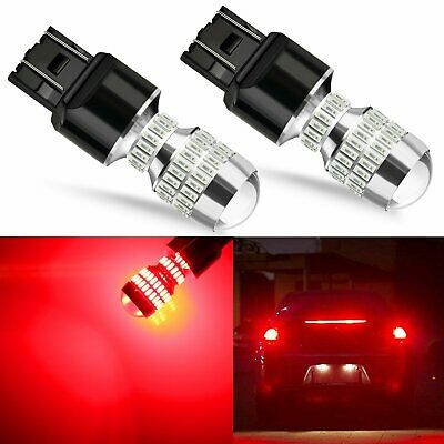JDM ASTAR 2 PCS 5730 Red 7440 7443 T20 LED Brake Tail Stop Signal Lights Bulbs