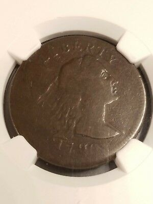 1796 Liberty Cap Large  Cent Ngc Vg10 Nice