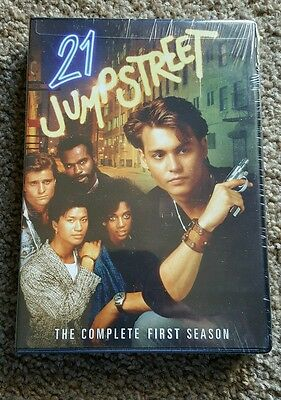 21 Jump Street The Complete First Season DVD NEW