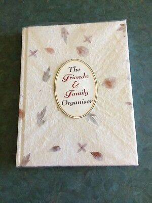 The Friends and Family Organiser Address Book