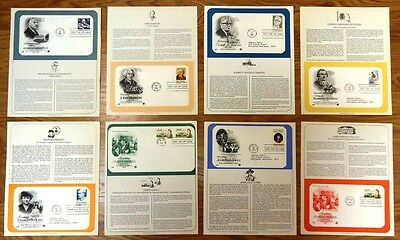 USPS Scott 1789 1821 1826 1874 1935 1936 1941 1950 First Day of Issue Qty 8