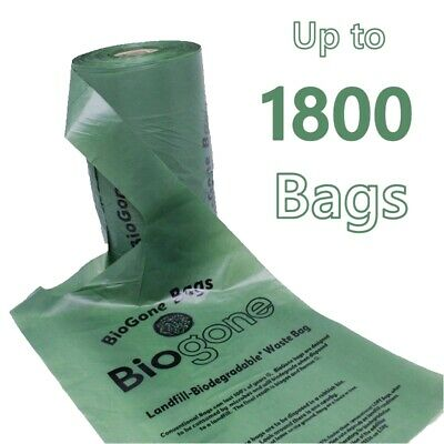 Degradable Dog Waste Bag Pet Litter Puppy Poop | 225, 675 or 1575 Doggy Poo Bags