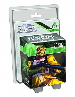 Star Wars Imperial Assault Bossk Villain Expansion Pack