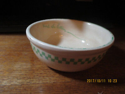 Vintage 1925 Ralston Purina Company All Gone Child Cereal Bowl