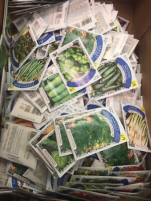 Lot Of 25 Various Vegetable Garden Seed Packets (Plus Bonus Packets)