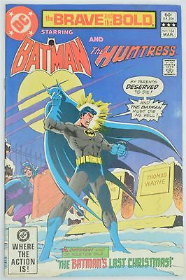 DC Comics Brave And The Bold 184 1982 VFN Vintage Batman Jim Aparo Mike Barr
